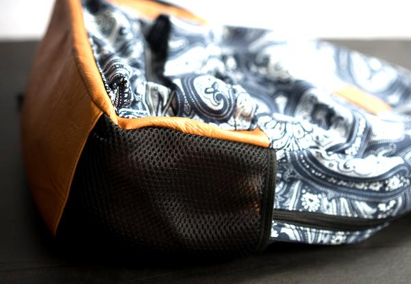 Rucksack mit Paisley-Muster