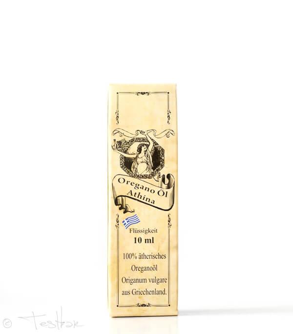 Athina Oregano Öl, 100% Premium ätherisches Oreganoöl, 80% Carvacrol