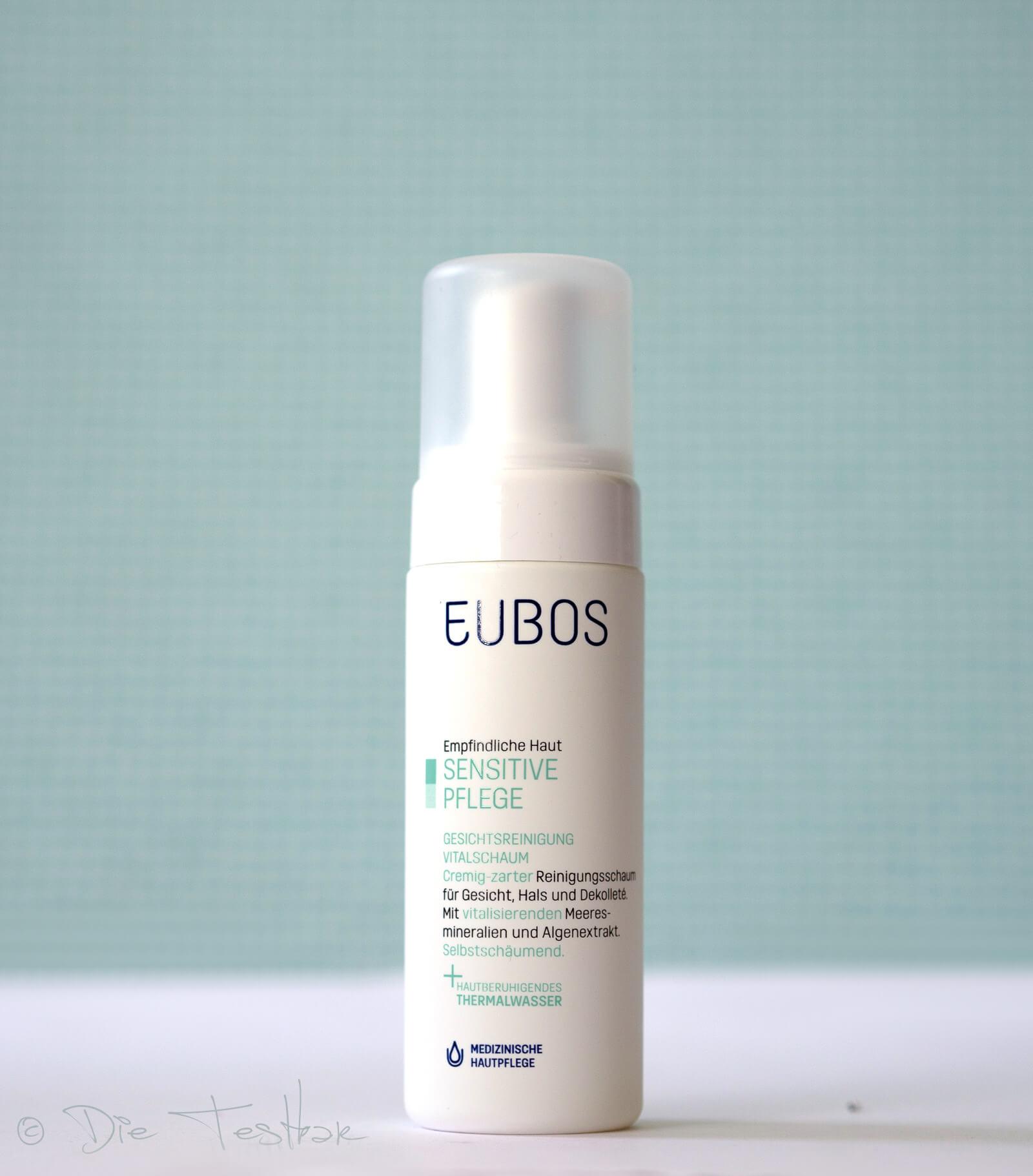Ninas sanfte Gesichtsreinigung, reichhaltige Gesichtspflege und pflegender Virenschutz mit Eubos