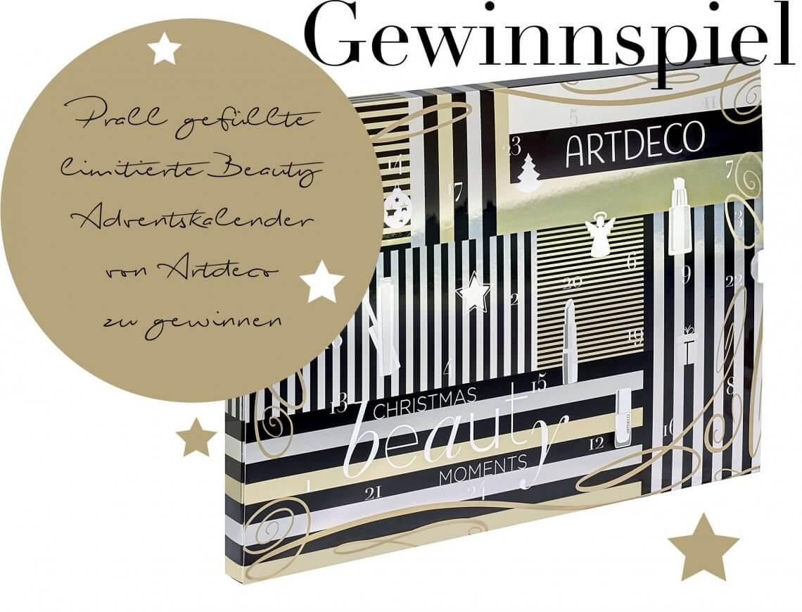 Gewinnspiel – Prall gefüllte limitierte Beauty Adventskalender von Artdeco zu gewinnen