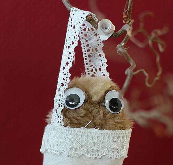 DIY - Genähte Spitztüten als Weihnachtsdeko oder als Geschenktüte