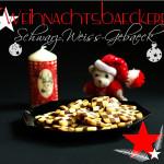 Weihnachtsbäckerei – Schwarz-Weiß-Gebäck