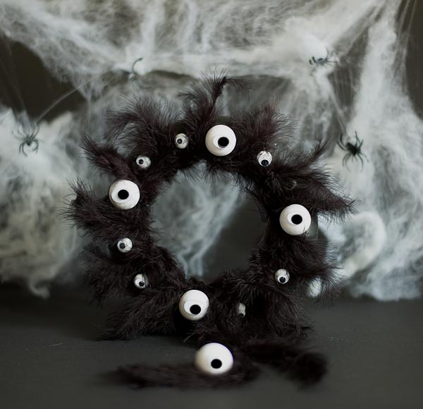 Gruselige Dekoideen Basteln Zu Halloween Kulleraugen