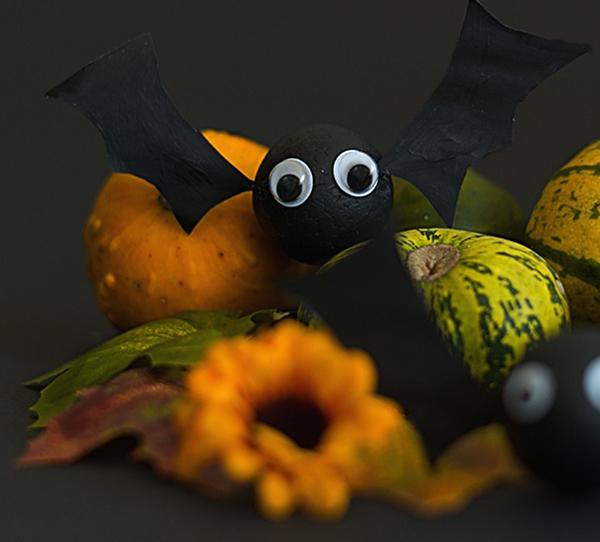 gruselige dekoideen halloween deko basteln kulleraugen flederm use lifestyle blog. Black Bedroom Furniture Sets. Home Design Ideas