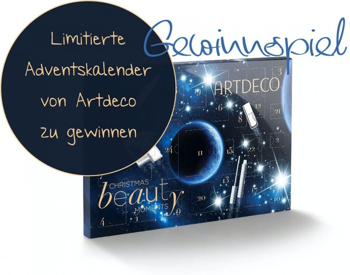 Gewinnspiel – 2 x 1 Limitierter Beauty Adventskalender von Artdeco zu gewinnen