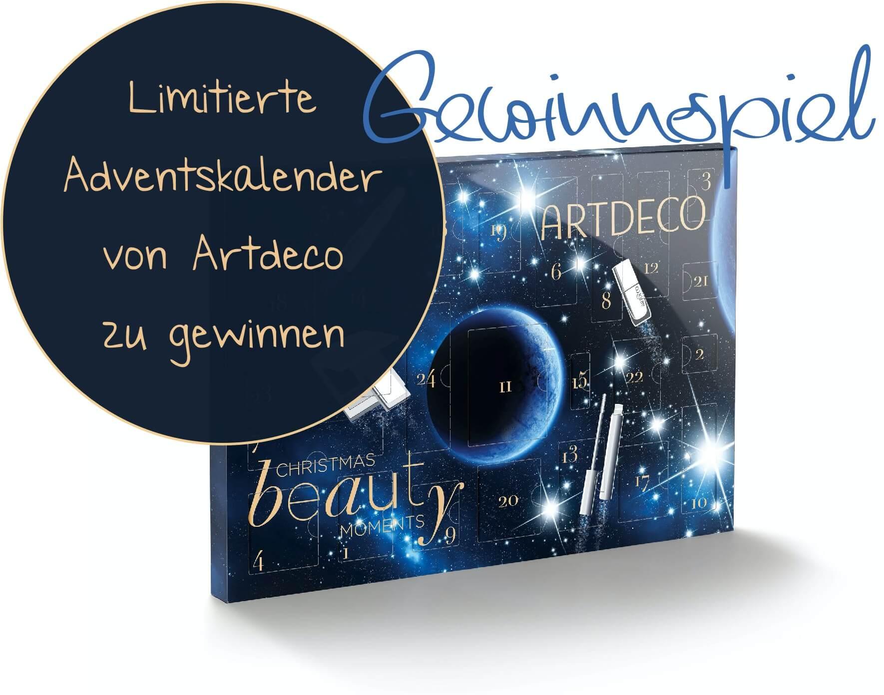 Gewinnspiel – 2 x 1 Limitierte Beauty Adventskalender von Artdeco zu gewinnen