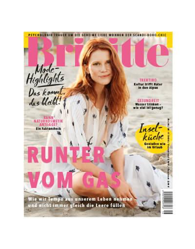 Brigitte Magazin August 2019