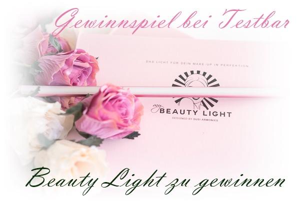 Gewinnspiel - my Beauty Light to go - die LED-Spiegelleuchte