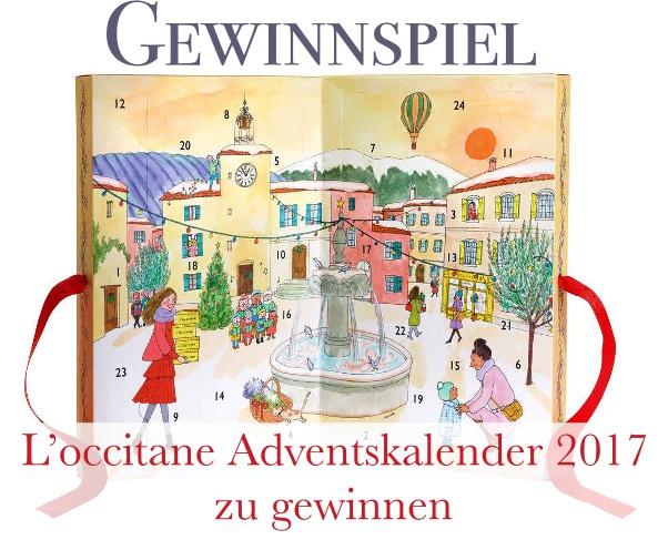 Gewinnspiel - L'occitane Adventskalender 2017 zu gewinnen