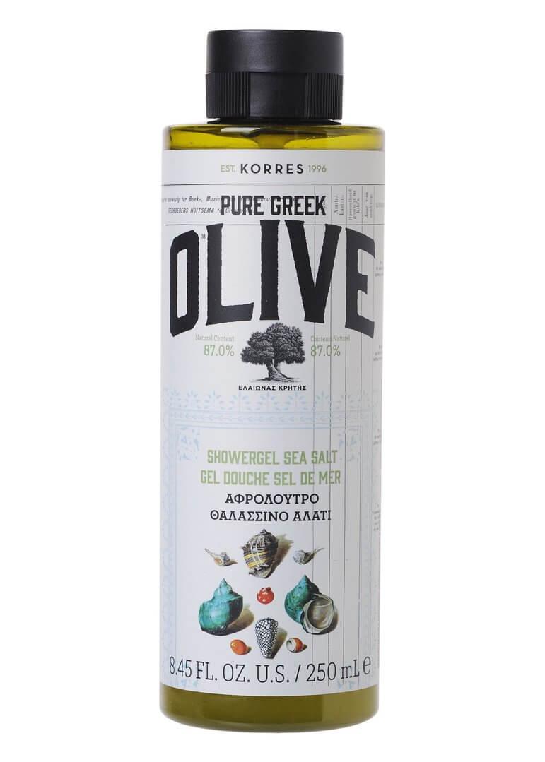 Korres PURE GREEK OLIVE Sea Salt Showergel