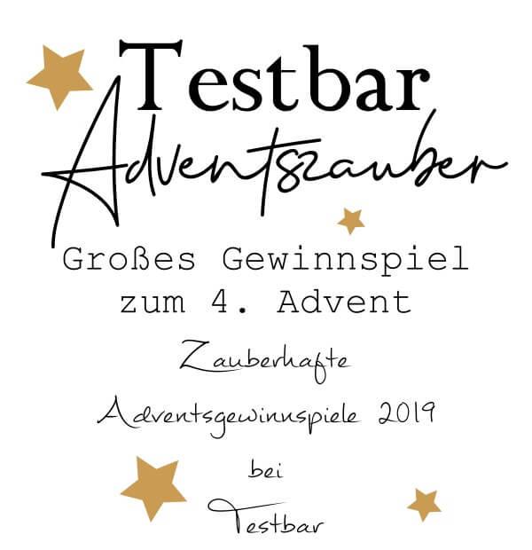Zauberhafte Adventsgewinnspiele 2019 bei Testbar – Großes Gewinnspiel zum 4. Advent
